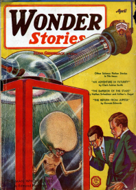 Cover, Wonder Stories, June 1931