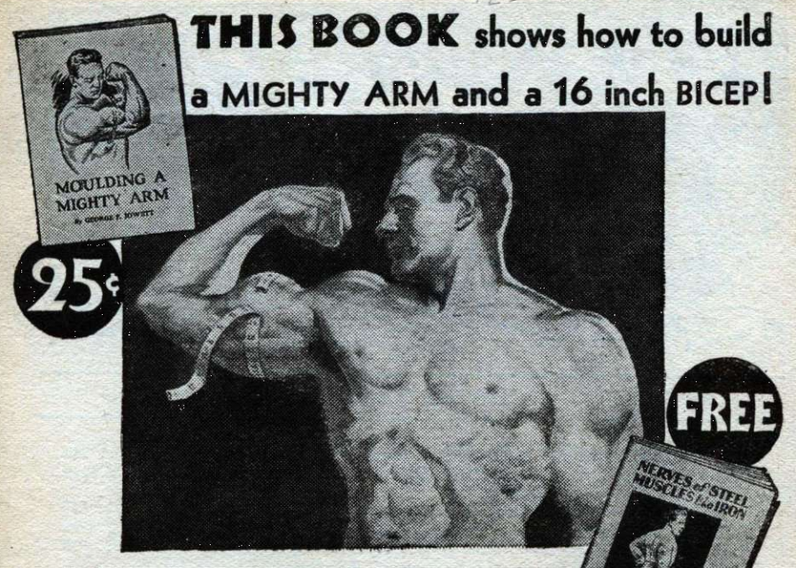 Ad from Wonder Stories