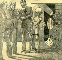 The Man from Tomorrow, Amazing Stories Quarterly, 1933
