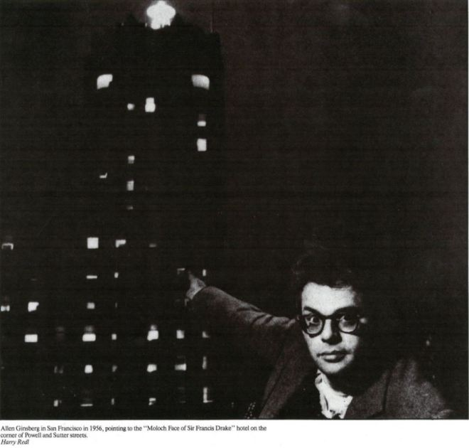 Ginsberg points at Moloch